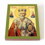 Святитель Николай Чудотворец, икона на доске 8*10 см - Иконы