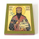 Праведный Стефан Щилянович, Сербский, икона на доске 8*10 см - Иконы