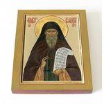 Преподобный Феодор Освященный, игумен, печать на доске 8*10 см - Иконы