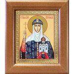 Равноапостольная княгиня Ольга, икона в широкой рамке 14,5*16,5 см - Иконы