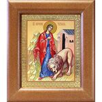 Мученица Татиана Римская, икона в широкой рамке 14,5*16,5 см - Иконы