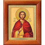 Мученик Анатолий Никейский, икона в рамке 8*9,5 см - Иконы