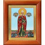 Мученица Валерия Кесарийская, Калерия, икона в рамке 8*9,5 см - Иконы