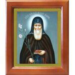 Преподобный Моисей Угрин, Печерский, венгр, рамка 12,5*14,5 см - Иконы