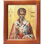 Святитель Мирон Критский, деревянная рамка 12,5*14,5 см - Иконы