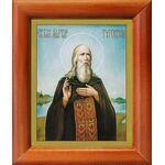 Преподобный Мартин Туровский, икона в рамке 8*9,5 см - Иконы