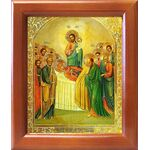 Успение Пресвятой Богородицы, икона в рамке 12,5*14,5 см - Иконы