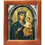 """Юровичская икона Божией Матери """"Милосердная"""", в рамке 12,5*14,5 см - Иконы"""