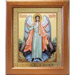 Ангел Хранитель, икона в широкой рамке 19*22,5 см - Иконы
