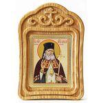 Святитель Лука архиепископ Крымский, икона в резной деревянной рамке - Иконы