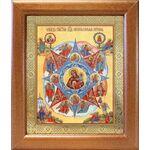"""Икона Божией Матери """"Неопалимая Купина"""", широкая рамка 19*22,5 см - Иконы"""