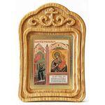 """Икона Божией Матери """"Нечаянная Радость"""", резная рамка - Иконы"""