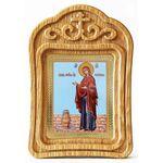 """Икона Божией Матери """"Геронтисса"""", резная деревянная рамка - Иконы"""