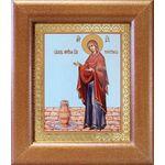 """Икона Божией Матери """"Геронтисса"""", широкая рамка 14,5*16,5 см - Иконы"""