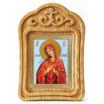 """Икона Божией Матери """"Умягчение злых сердец"""", в резной рамке - Иконы"""