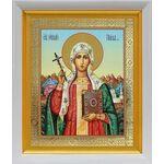 Равноапостольная Нина просветительница Грузии, в белом киоте 19*22см - Иконы