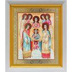 Собор Архангела Михаила, в белом киоте 19*22 см - Иконы