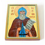Преподобномученик Адриан Ондрусовский, печать на доске 13*16,5 см - Иконы