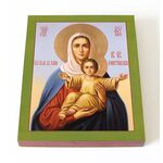 """Икона Божией Матери """"Аз есмь с вами и никтоже на вы"""", печать 13*16,5 см - Иконы"""