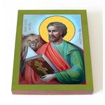 Апостол от 70-ти Марк Евангелист, икона на доске 13*16,5 см - Иконы
