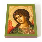 Архангел Гавриил, икона на доске 13*16,5 см - Иконы
