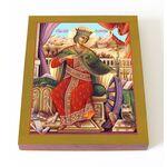 Великомученица Екатерина Александрийская, печать на доске 13*16,5 см - Иконы