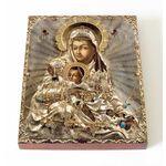 """Киккская икона Божией Матери """"Милостивая"""", доска 13*16,5 - Иконы"""