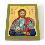 Великомученик Никита Готфский, икона на доске 13*16,5 см - Иконы