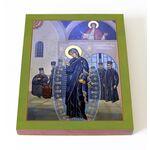 Икона Божией Матери Светописанная, печать на доске 13*16,5 см - Иконы