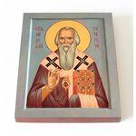 Святитель Николай Сербский, Велимирович, икона 13*16,5 см - Иконы
