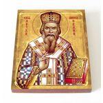 Святитель Николай Сербский, Велимирович, икона на доске 13*16,5 см - Иконы