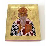 Святитель Николай Сербский, Велимирович, печать на доске 13*16,5 см - Иконы