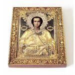 Святой великомученик и целитель Пантелеимон, на доске 13*16,5 см - Иконы