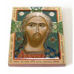 Спас Златые Власы, печать на доске 13*16,5 см - Иконы
