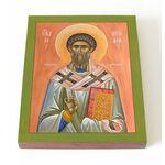 Священномученик Феодор Александрийский, икона на доске 13*16,5 см - Иконы
