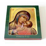 Горбаневская икона Божией Матери, печать на доске 14,5*16,5 см - Иконы