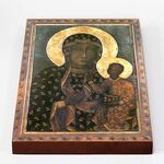 Ченстоховская икона Божией Матери, IX-XI в, печать на доске 18*26 см - Иконы