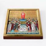 Собор Валаамских святых, икона на доске 20*25 см - Иконы