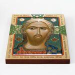 Спас Златые Власы, икона на доске 20*25 см - Иконы