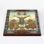 Собор Архангела Михаила, икона на доске 22*25 см - Иконы