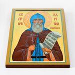 Преподобномученик Адриан Ондрусовский, икона на доске 30*40 см - Иконы
