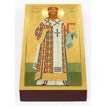 Святитель Тихон Задонский, печать на доске 7*13 см - Иконы