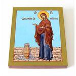 """Икона Божией Матери """"Геронтисса"""", печать на доске 8*10 см - Иконы"""