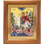 Мученик Трифон Апамейский, икона в широкой рамке 19*22,5 см - Иконы