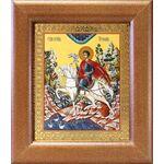 Мученик Трифон Апамейский, икона в широкой рамке 14,5*16,5 см - Иконы