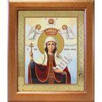 Великомученица Параскева Пятница, икона в широкой рамке 19*22,5 см - Иконы