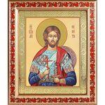 Великомученик Никита Готфский, икона в рамке с узором 19*22,5 см - Иконы