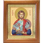 Великомученик Никита Готфский, икона в широкой рамке 19*22,5 см - Иконы