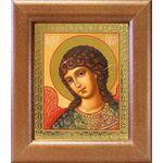 Архангел Гавриил, икона в широкой рамке 14,5*16,5 см - Иконы
