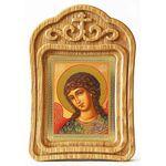 Архангел Гавриил, икона в резной деревянной рамке - Иконы